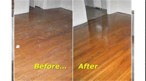 Buffing Hardwood Floors Youtube