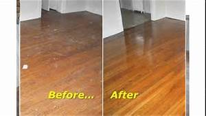 Buffing hardwood floors youtube for How to buff wood floors by hand