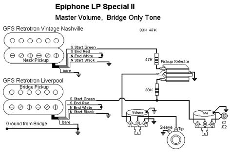 Epiphone Sg Special Wiring Diagram by Rick S Mods