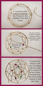 Tutoriel Attrape Rêve : step9 ensemble du tutoriel sur le lien attrape r ve dream catcher ~ Voncanada.com Idées de Décoration