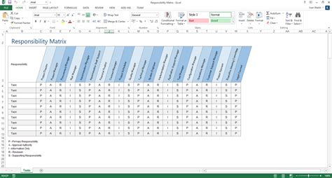responsibility matrix template concept template ms word