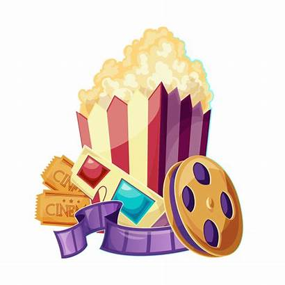 Popcorn Clipart Ticket Searchpng