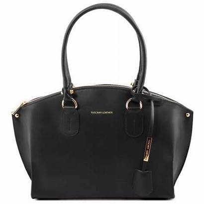 Leather Diana Tote
