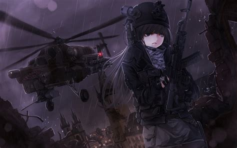 Anime Gun Wallpaper - anime anime gun helicopters wallpapers hd