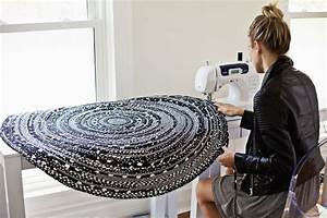 Teppich Selber Weben : make your own rope rug n hen geflochtener teppich diy teppiche und stoffreste ~ Orissabook.com Haus und Dekorationen