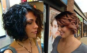 2017 Black Curly Bob Hairstyles