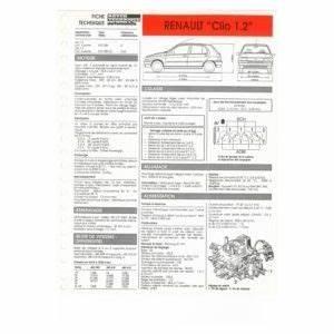 Fiche Technique Renault Clio : renault clio moteur e5f 1171cc ~ Medecine-chirurgie-esthetiques.com Avis de Voitures