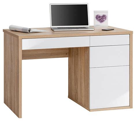 white computer desk maja club oak white computer desk