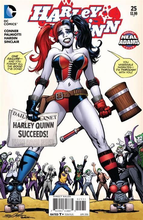 neal adams meets harley quinn 13th dimension comics