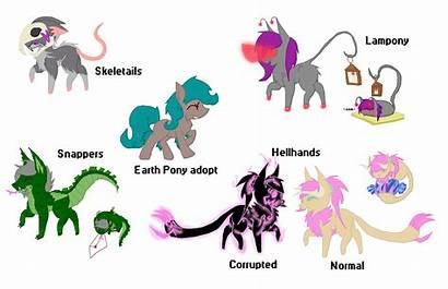 Mlp Species Closed Deviantart Base Adoptables
