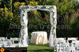 pew bows lang 03 castle on hudson wedding chuppah tulle scattered