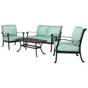 Smith And Hawken Patio Furniture Set by Smith Amp Hawken 174 Edinborough 4 Piece Metal Pa Target