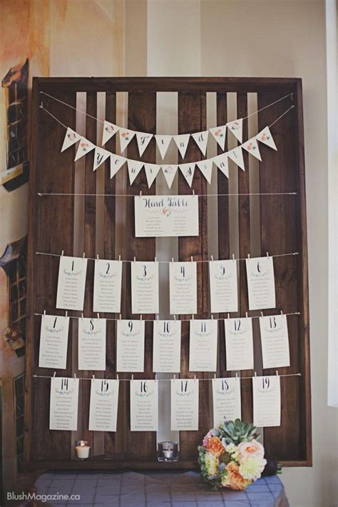 rustic wedding   hanger  fort edmonton rustic wedding seating chart rustic seating