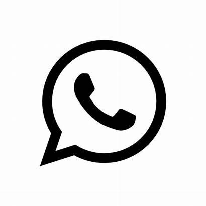 Preto Simbolo Whatsapp