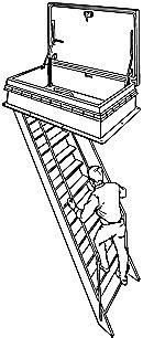 TYPE BL Companionway Ladders   Bilco UK