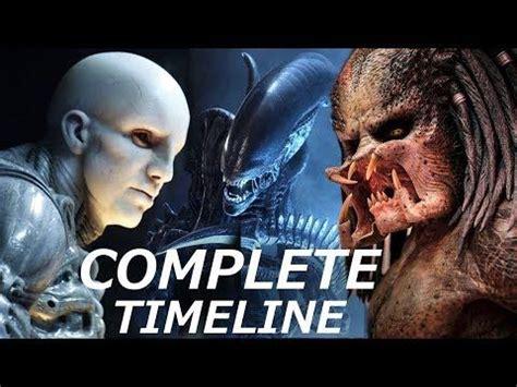 Predators Engineers & Aliens - COMPLETE Timeline - YouTube ...