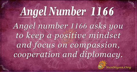 Angel Number 1166 Meaning - Living A Meaningful Life ...