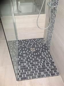 Baignoire Douche Italienne : r alisation r novation d une salle de bain avec douche italienne en alignement avec une ~ Melissatoandfro.com Idées de Décoration