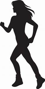 Man And Woman Running Clipart - ClipartXtras