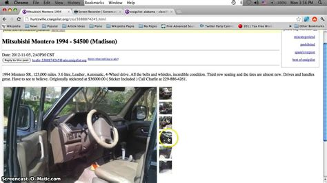 craigslist decatur alabama  cars  sale  owner