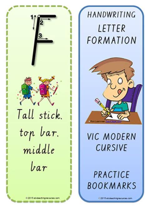 foundation handwriting terminology bookmark
