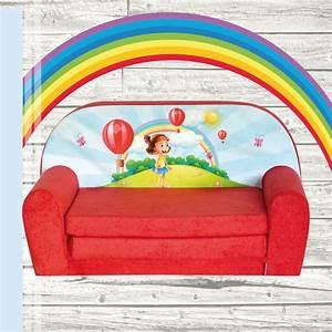 Mini canape lit enfant convertible sofa fauteuil ebay for Mini canape convertible