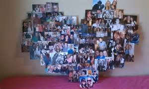 DIY Heart Shaped Collage