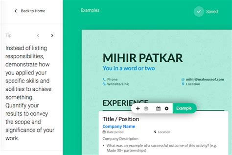 Resume Tools by The Last 5 Resume Building Apps And You Ll Need