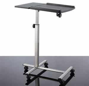Beistelltisch Für Laptop : table maxx komfort laptop tisch beistelltisch arbeitstisch chrom optik ebay ~ Markanthonyermac.com Haus und Dekorationen