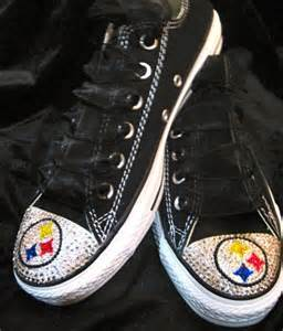 Pittsburgh Steelers Converse Shoes