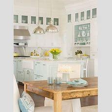 Classic Coastal Kitchen  Rooms To Love  Distinctive Cottage