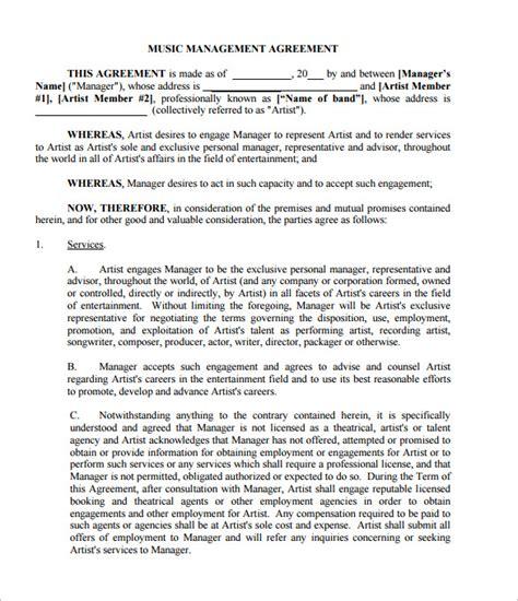 contract templates word  google docs