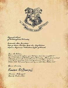best 20 hogwarts letter template ideas on pinterest With harry potter school letter