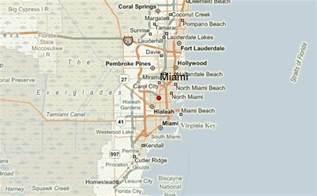 Miami Florida Map Location