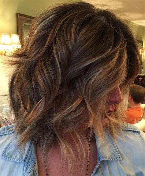 80 sensational medium length haircuts for thick hair in 2017
