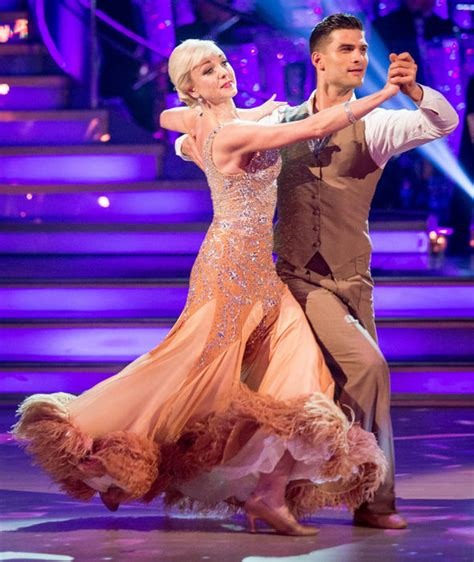 Strictly Come Dancing S Jeremy Vine Helen George Danced With HUGE Splinter In Her A TV