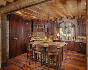 Rustic Kitchen With Flush Light By Joe Folsom Zillow