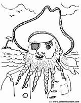 Blackbeard Coloring Pirate Pages Drawing Printable Getdrawings Getcolorings sketch template