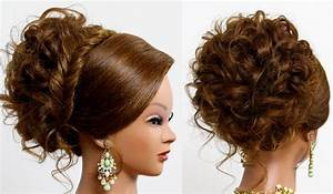 Hairstyle For Long Medium Hair Bridal Prom Updo Makeup