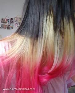 Tri Color Hair Styles
