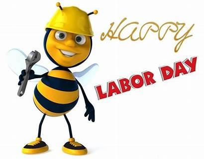 Labor Labour Clip Happy Clipart Bee Animated
