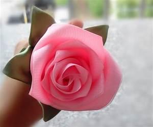 Diy ribbon roses and flowers | Kaka Style