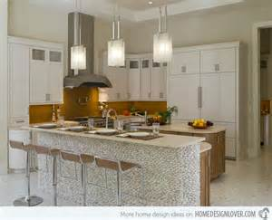 backsplash white kitchen 15 distinct kitchen island lighting ideas home design lover