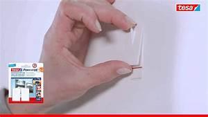 Tesa Bilder Aufhängen : tesa powerstrips bilder nagel 4042448105707 youtube ~ Orissabook.com Haus und Dekorationen