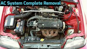 How To Remove Ac Compressor  U0026 Components From 1988
