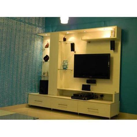 Simple tv wall mount lcd panel designs furniture living room. Wooden Tv Unit LCD TV Cabinet, For Home, Rs 20000 /set ...