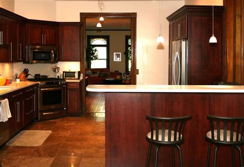 the paint colors of the kitchen cherry cabinets smart