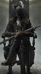 Bloodborne Game Sword Mask HD Background Wallpaper WallpapersByte