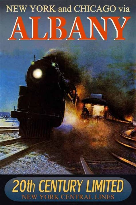 albany  york central railroad  century limited