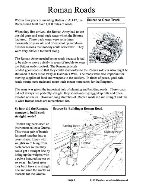 pictures roman empire worksheet leafsea